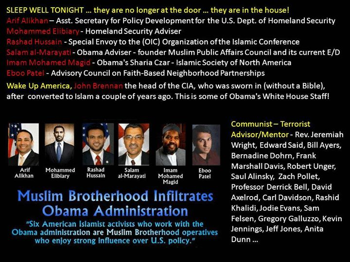 """white house muslim The obama white house has finally released the names of the fourteen muslim """" leaders"""" who met with the president this past week among the."""