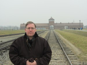 "My visit to the Nazi death camp in southern Poland led me to write ""The Auschwitz Escape."""