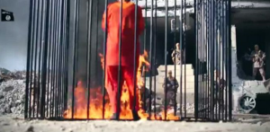 New video shows ISIS burning Jordanian pilot alive. (Photo source: Fox News)