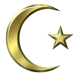3D Golden Islamic Symbol