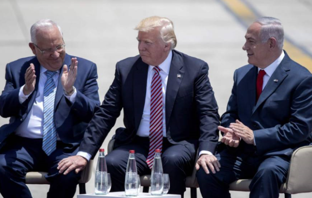 Trump-Bibi-Rivlin-sitting