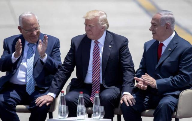 Trump-Bibi-Rivlin-sitting