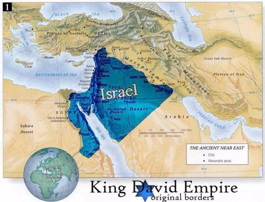 king david land